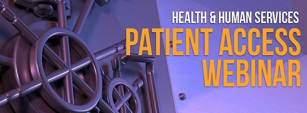 patient access to health information webinar