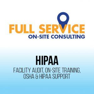 HIPAA On-site service