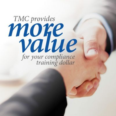 tmc PROVIDES MORE FOR YOUR TRAINING DOLLAR