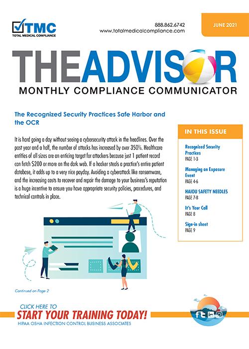 Total Medical Compliance Advisor June 2021