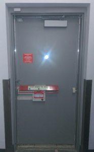 OSHA emergency door