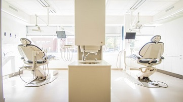 dental chairs water lines