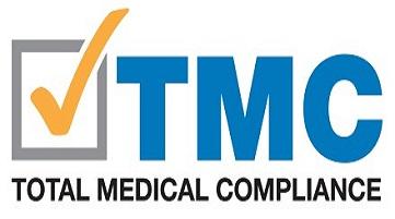 orange check mark total medical compliance logo