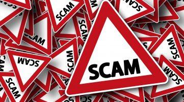 scam for OCR alert