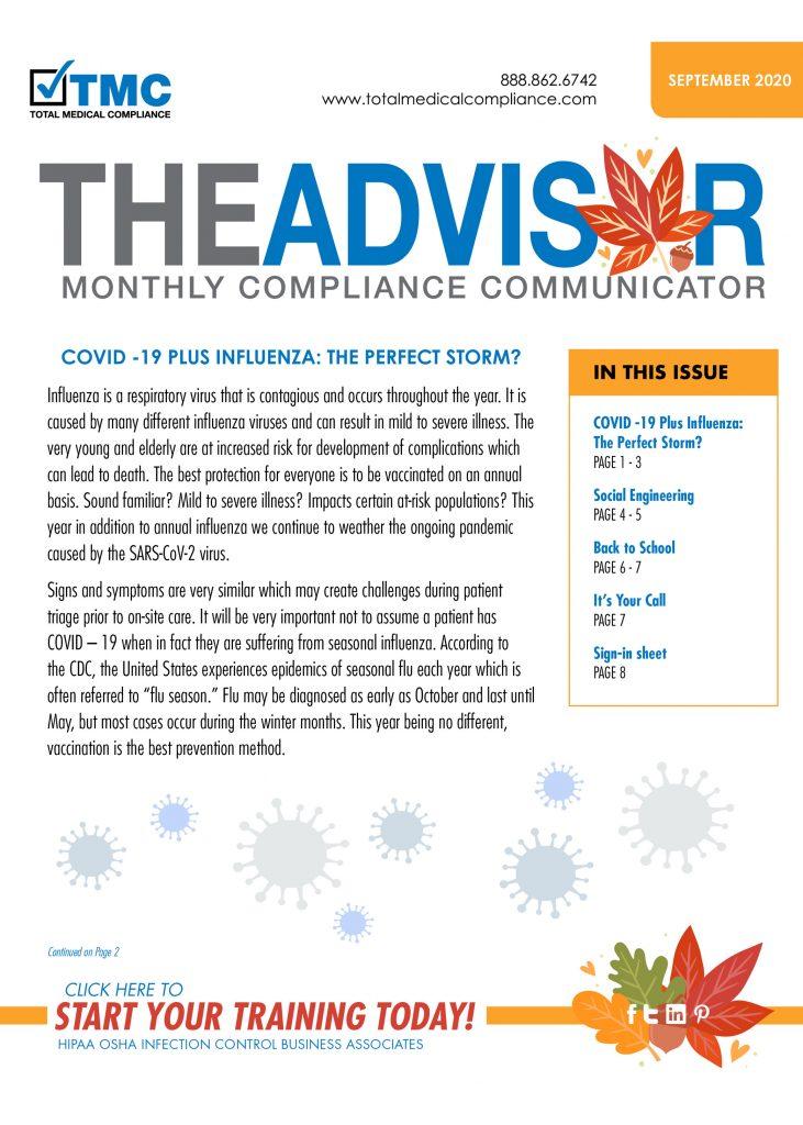 September TMC Advisor 2020