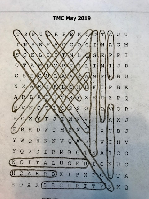 word search answers